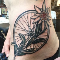 Photo taken at Scapegoat Tattoo by Iron C. on 6/24/2015