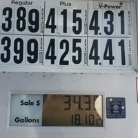 Photo taken at Shell by Andrea D. on 8/16/2013