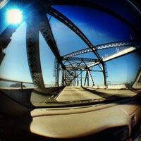 Photo taken at Richmond-San Rafael Bridge by Marko I. on 10/3/2012