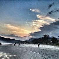 Photo taken at Praia da Baleia by Didi I. on 4/28/2013