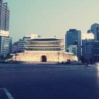 Photo taken at Sungnyemun by Ciel K. on 6/2/2013