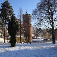 Photo taken at Kronenburgerpark by Wilbert G. on 12/8/2012