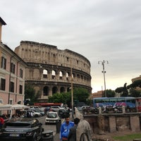 Photo taken at Piazza del Colosseo by Genych on 5/28/2013