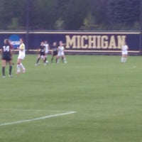Photo taken at U-M Soccer Complex by Phil C. on 9/27/2014