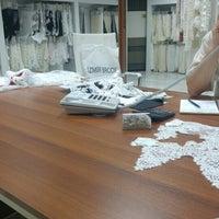 Photo taken at İzmir Brode Tekstil by Birgül . on 4/9/2016