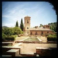Photo taken at La Alhambra y el Generalife by Luka D. on 6/11/2013
