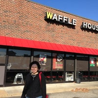 Photo taken at Waffle House by Bill K. on 11/26/2012