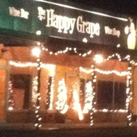 Photo taken at The Happy Grape by Joe P. on 11/30/2012