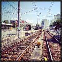 Photo taken at U Möhringen Bahnhof by Florian B. on 7/19/2013
