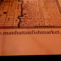 Photo taken at The Manhattan Fish Market by Lily on 11/24/2012