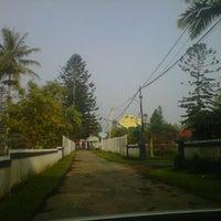 Photo taken at Balai Besar Pengembangan Budidaya Air Tawar (BBPBAT) by Widya P. on 2/28/2014