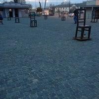 Photo taken at Plac Bohaterów Getta by Marina V. on 11/3/2012