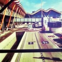 Photo taken at Terminal 4 Satélite by Rafael M. on 4/15/2013