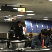 Photo taken at Gate A1 by Eva G. on 12/21/2012