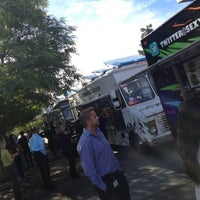 Photo taken at Food Truck Extravaganza by Sofia L. on 11/14/2012