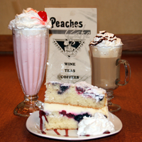 Photo taken at Peaches Cafe by Peaches Cafe on 1/16/2015