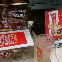 Photo taken at Wendy's by Ms.Kane K. on 10/20/2012