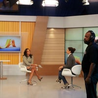 Photo taken at RBS TV by Andressa G. on 5/18/2013