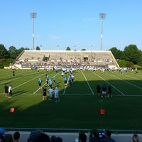 Photo taken at Gibbs Stadium by Matt C. on 7/26/2013