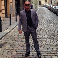 Photo taken at Antik City Hotel Prague by Serjo P. on 8/15/2014