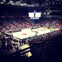 Photo taken at Fifth Third Arena by Alex C. on 12/22/2012
