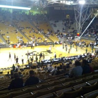 Photo taken at Coors Events Center by Dax A. on 12/6/2012