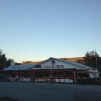 Photo taken at Casa de Fruta by David J. on 12/21/2012