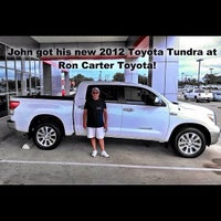Photo taken at Ron Carter Toyota by Jimmy P. on 10/2/2012