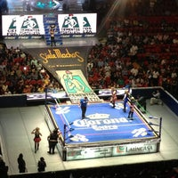 Photo taken at Arena México by sara i. on 3/23/2013