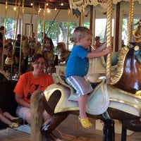 Photo taken at Congress Park Carousel by Ed on 7/26/2014