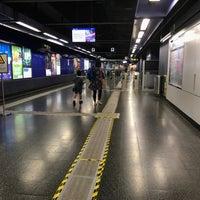 Photo taken at MTR Shau Kei Wan Station by Christine F. on 10/30/2016