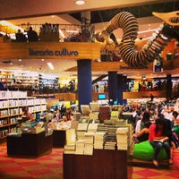 Photo taken at Livraria Cultura by Luis R. on 5/2/2013