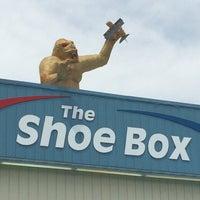 Photo taken at The Shoe Box by Jenny M. on 7/5/2014