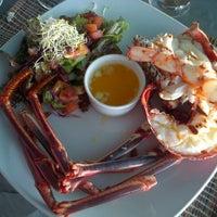Photo taken at Lobster Alive by Stefanie H. on 11/12/2012