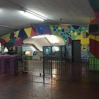Photo taken at Estacion Av. La Plata [Línea E] by Vico V. on 7/4/2016