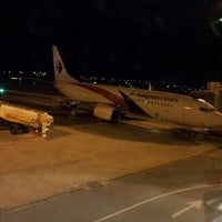 Photo taken at Kuching International Airport (KCH) by Wawa B. on 2/6/2013