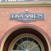 Photo taken at Diva Salon & Bridal Services by Jason M. on 3/7/2013