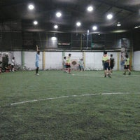 Photo taken at De Futsal by Rully H. on 10/12/2012