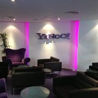 Photo taken at Yahoo! UK by Cris Luiz P. on 2/15/2013