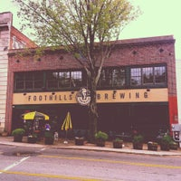 Photo taken at Foothills Brewing by Richard G. on 5/4/2013