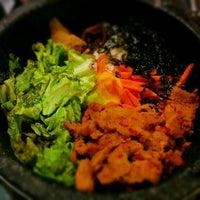 Photo taken at Red Pig Korean Restaurant (빨간돼지 한국식당) by sainoky on 4/10/2015