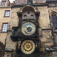 Photo taken at Prague Astronomical Clock by Osman Emir Bayman on 11/18/2012