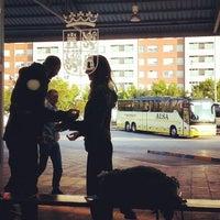 Photo taken at Estación Autobuses de Ponferrada by Luis F. on 8/15/2014