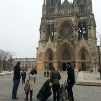 Photo taken at Reims by Rembert V. on 3/31/2013