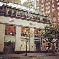 Photo taken at Hermès by Mariana on 10/31/2012