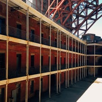 Photo taken at Fort Point National Historic Site by Tyson G. on 6/29/2014
