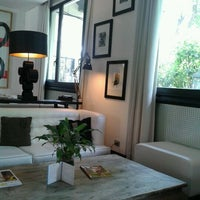 Photo taken at Pulitzer Hotel Rome by Paola P. on 7/23/2013