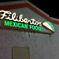 Photo taken at Filiberto's Mexican Food by David L. on 11/8/2014