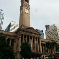 Photo taken at Brisbane City Hall by Andrey V. on 5/31/2013