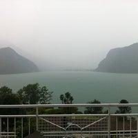 Photo taken at Lago di Lugano by Maren P. on 8/5/2011
